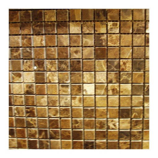 Dark Emperado 5/8″x5/8″ Polished Mosaic