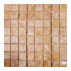 "Honey Onyx 1""x1"" Mosaic Polished"
