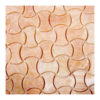 "Honey Onyx Bone 1""x2"" Honed Mosaic"