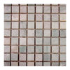 "Ming Green 1""x1"" Mosaic Polished"