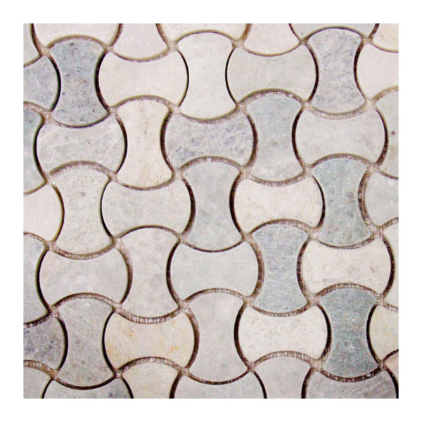 Ming Green Bone 1″x2″ Mosaic Honed