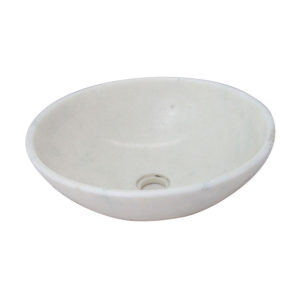 Pure White Round Sink