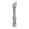 St.Andrews Grey Round Angle Banister