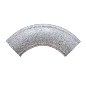 St. Andrew's Grey Curved Corner Piece