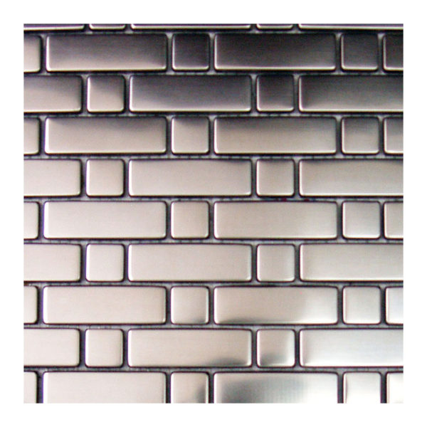 Stainless Steel Mosaic Brick Pattern