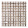 "White Marble 5/8""x5/8"" Mosaic Polished"